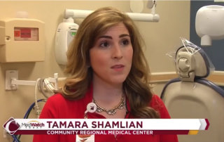 Dr. Tamara Shamlian helps Surabian Dental Center